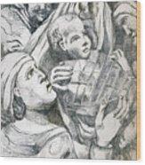 Anna, Elizabeth And Anne Wood Print