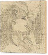 Anna Held Wood Print