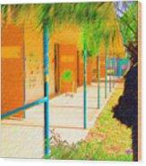 Anna Maria Elementary C020001 Wood Print
