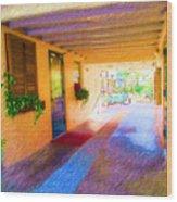 Anna Maria Elementary Office Hallway C130662 Wood Print