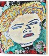 Anna Nicole Wood Print