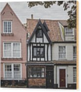 Anna Sewell's House In  Great Yarmouth Wood Print