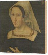 Anna Van Spangen Wife Of Adriaen Van Der Goes Wood Print