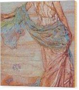 Annabel Lee James Abbott Mcneill Whistler Wood Print