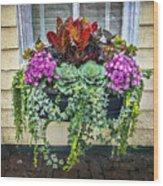 Annapolis Flower Box Wood Print