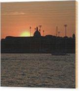Annapolis Sunset Wood Print