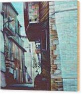 Anna's Street Wood Print