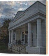 Anne G Basker Auditorium In Grants Pass Wood Print