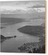 Annecy Lake Wood Print