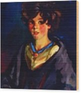Annie Geg 1925 Wood Print