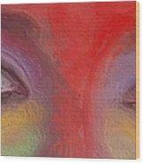 Annie S Eyes Wood Print