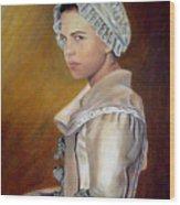 Annilise Wood Print