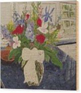 Anniversary Bouquet Wood Print