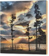 Anniversary Wood Print