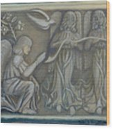 Annunciation - Existing Fragment Wood Print