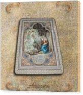 Annunciation Wood Print
