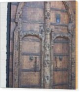 Another Door Wood Print