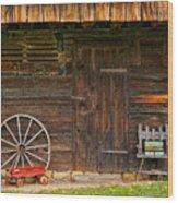Another Era Wood Print