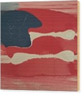 Another Flag Wood Print