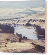 Another Flathead River Image Wood Print