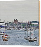 Another Harbor View Wood Print