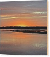Another Hilton Head Island Sunset Wood Print