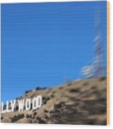 Another Hollywood Sign Wood Print