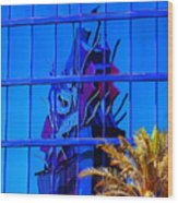 Another Rio Reflection Wood Print