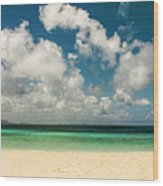 Anguilla - Another Spectacular Beach  Wood Print