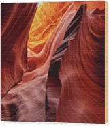 Antalope Canyon #2 Wood Print