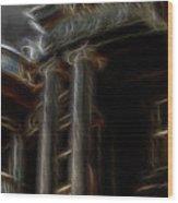 Ante Bellum Wood Print