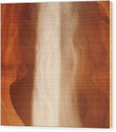 Antelope Canyon - A Spiritual Episode Wood Print by Christine Till
