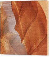 Antelope Canyon - Arizona's Sandstone Cathedral Wood Print by Christine Till