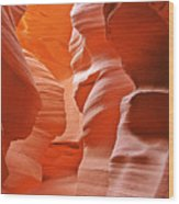 Antelope Canyon - Nature's Art Gallery Wood Print by Christine Till