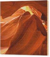 Antelope Canyon - The Wave Wood Print