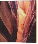 Antelope Canyon II Wood Print