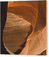 Antelope Canyon No 3 Wood Print