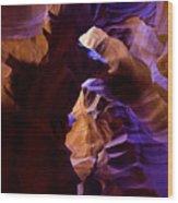 Antelope Canyon Seventeen Wood Print