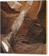 Antelope Canyon Six Natural Wood Print
