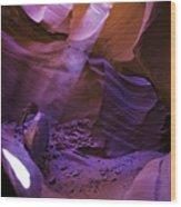 Antelope Canyon Six Wood Print