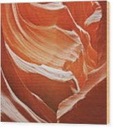 Antelope Canyon - So Much Brilliance Wood Print
