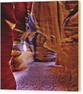 Antelope Canyon Thirteen Wood Print