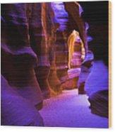 Antelope Canyon Three Wood Print
