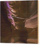 Antelope Canyon Two Wood Print