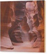 Antelope Canyon Utah Wood Print