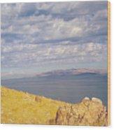 Antelope Island 3 Wood Print
