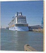 Anthem Of The Seas Southampton Wood Print