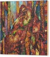 Anthill Wood Print