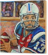 Anthony Calvillo Wood Print