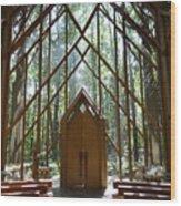 Anthony Chapel Wood Print
